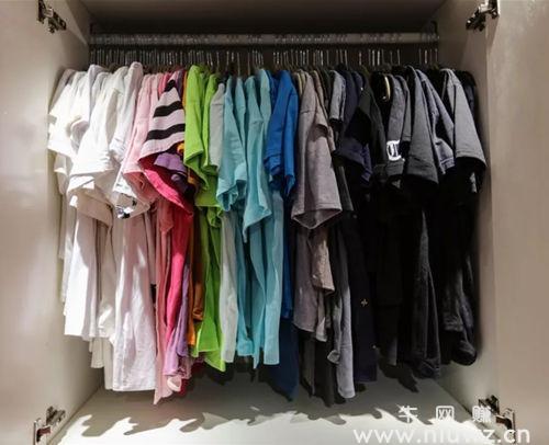 整理后的衣柜